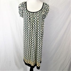 Max Studio Stretch Relaxed Dress NWT LARGE